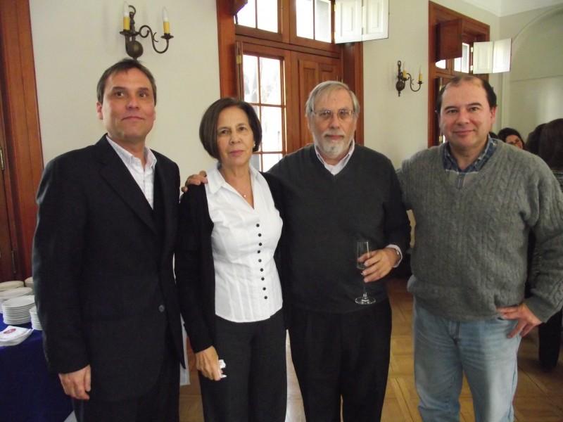 Martin Meister, Patricia Klapp, Máximo Bosch y Eduardo Contreras