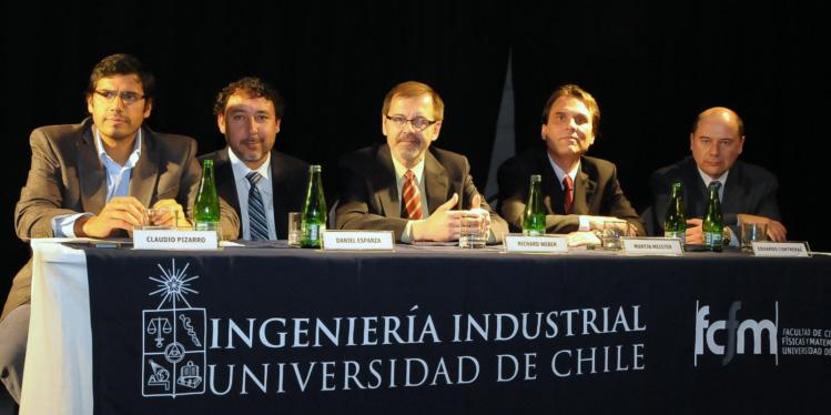 Graduación de Educación Ejecutiva Universidad de Chile 2012 - Martin Meister