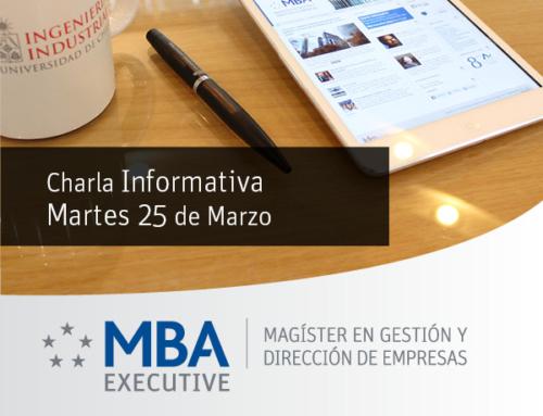 Charla Informativa MBA U de Chile